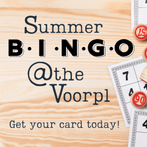 Summer BINGO at the Voorpl