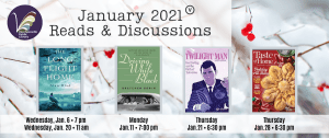 January 2021 Book Discussion Groups