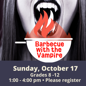 Barbecue with the Vampire