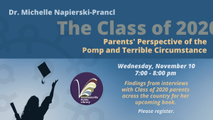 The Class of 2020: Parents' Perspectives of the Pomp and Terrible Circumstance. Wednesday, November 10, 2021