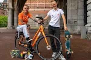 Skateboardsters Candy en Keet nieuwe ambassadeurs voor Gazelle