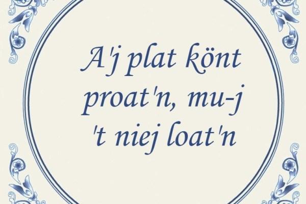 Gedichten en verhalen in de streektaal bij VoorstVeluwezoom