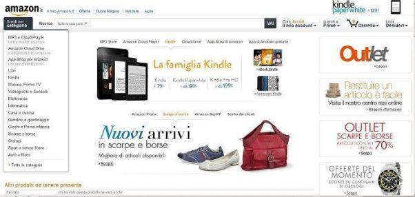 b0f3e1342772c6 www.amazon.it è un negozio online molto facile e semplice da utilizzare  dove potrai scoprire i migliori sconti e offerte che ti aiuteranno a  risparmiare ...