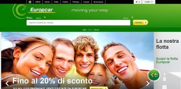 Sconto europcar