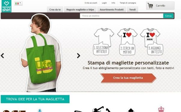 sconto spreadshirt