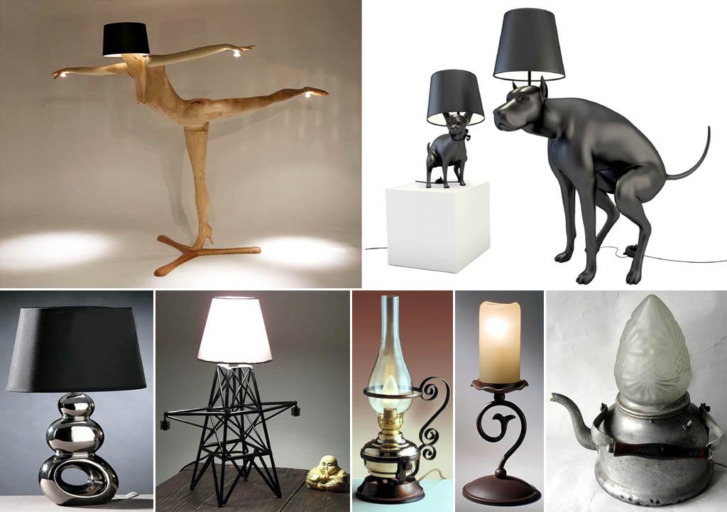لامپ های رومیزی اصلی
