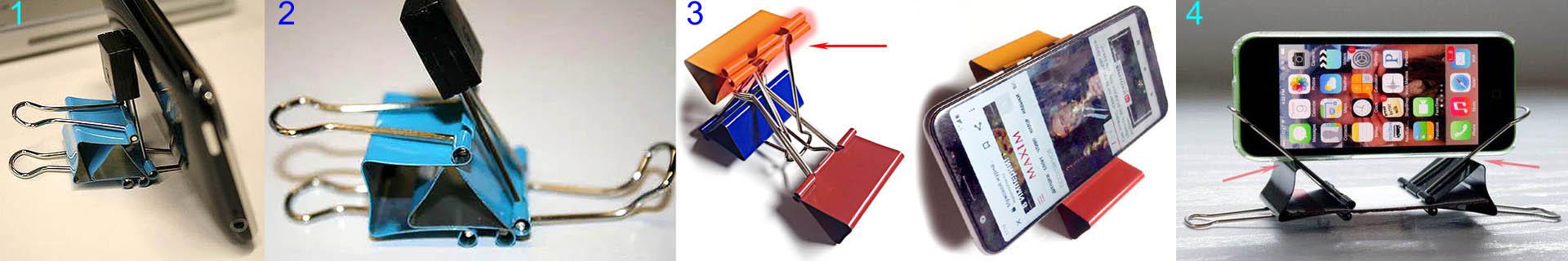 วิธีการทำขาตั้งสำหรับคลิปหนีบกระดาษ