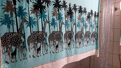 Ich freu mich aufs Vernähen, die Giraffen sind ein bisschen grösser als erwartet.