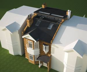 0334 Roof extension in South London