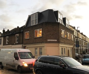 0666 Roof extension to corner property in Clapham