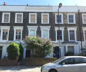 0734 Refurbishment and an extension to a six bedroom terraced house in Islington
