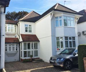 0748 single storey rear extension in Golders Green