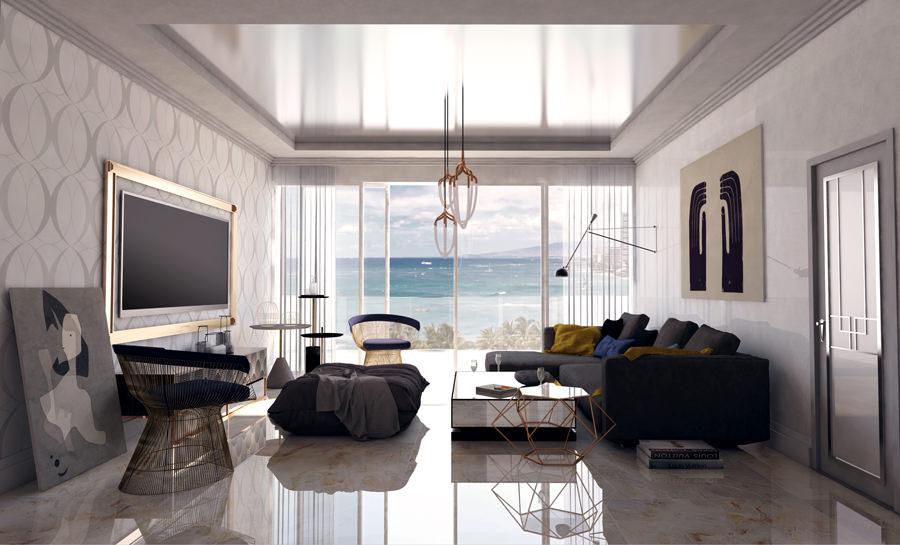Fusion d u rénovation décoration appartement bourgeois