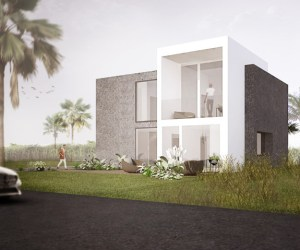 0824 New built house in Riche Fond on Mauritius