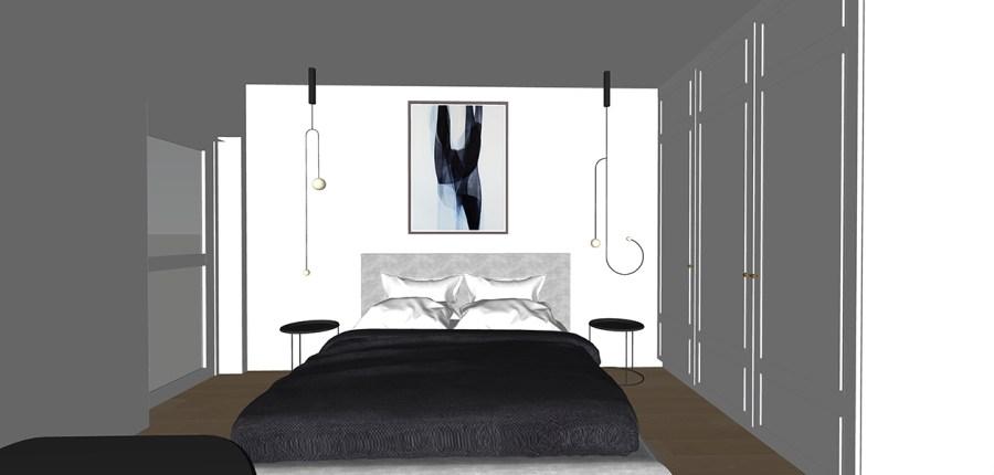 blue white master bedroom garden-flat-design-vorbild-architecture-27