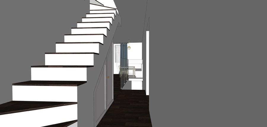 maisonette stairs design