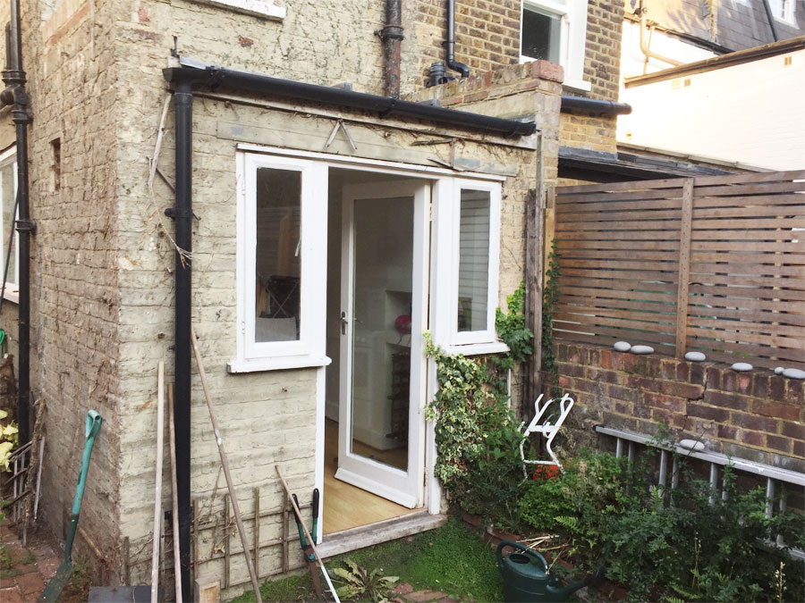 0667-Traditional refurbishment and extensions in Hammersmith-001