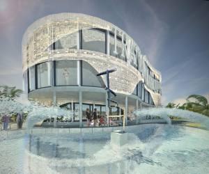 03331 Handelszentrum mit Hotel und Restaurant in Lagos, Nigeria