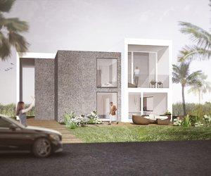 0824 Nouvelle maison construite à Riche Fond sur l'île Maurice