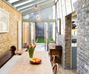 0732 prolongements d'une maison mitoyenne à Hackney
