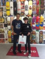 Tony Hawk i Supreme Store Williamsburg
