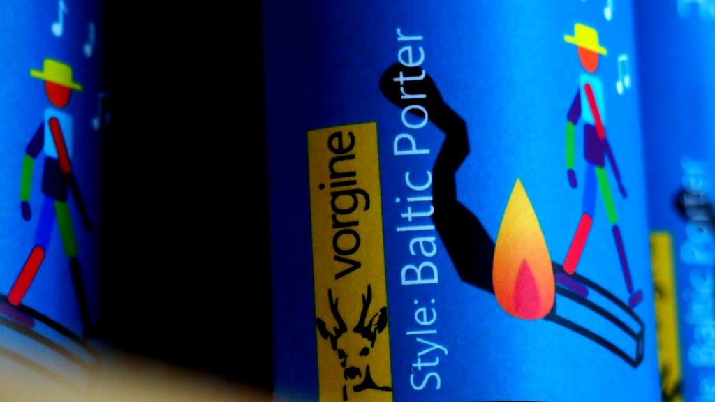 Bière Vorgine Harbaret Baltic Porter