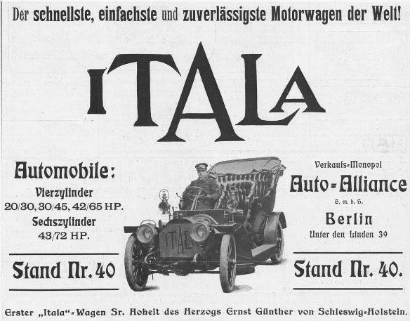 Itala-Reklame_um_1906_Galerie