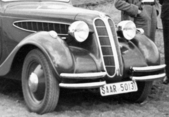 BMW_326_Zulassung_Saarland_Frontpartie