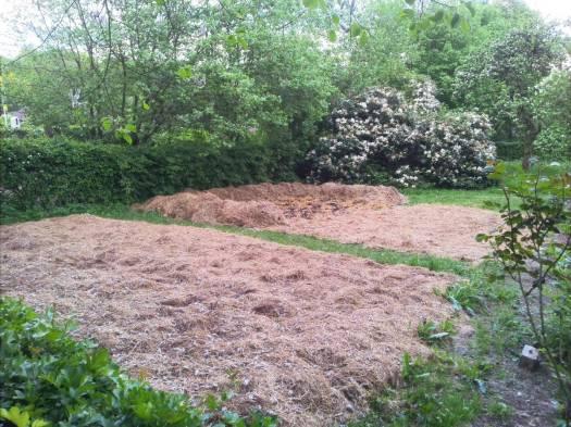 """So wird der """"neue"""" Bauerngarten urbar gemacht."""