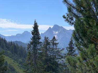 Blaueisspitze, Blaueisgletscher und der Hochkalter (2606m)