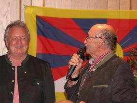 Moderator Wolfgang Reindl und Obmann Josef Bachleitner