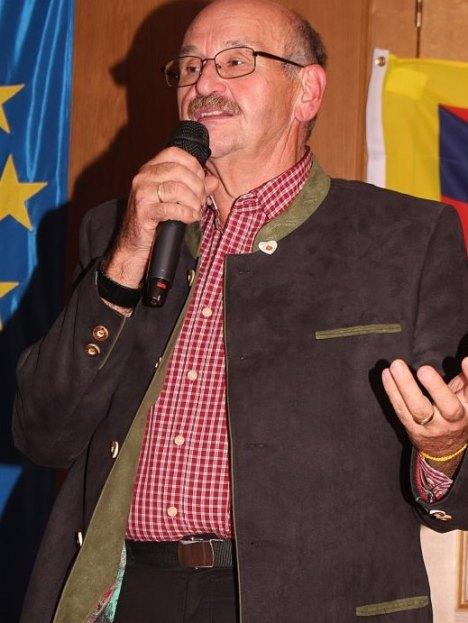 Obmann Josef Bachleitner bei der Eröffnung des MD 2016