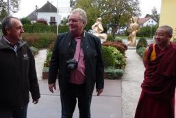 Obmann Gerhard Haring, Wolfgang Reindl und Gesche Söpa