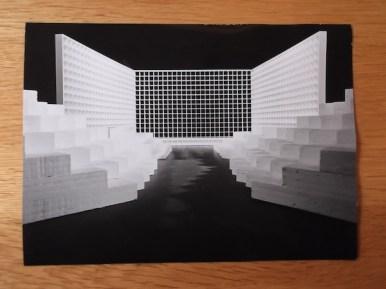 70935, Foto van maquette voor onbekend programma Collectie Jan van der Does