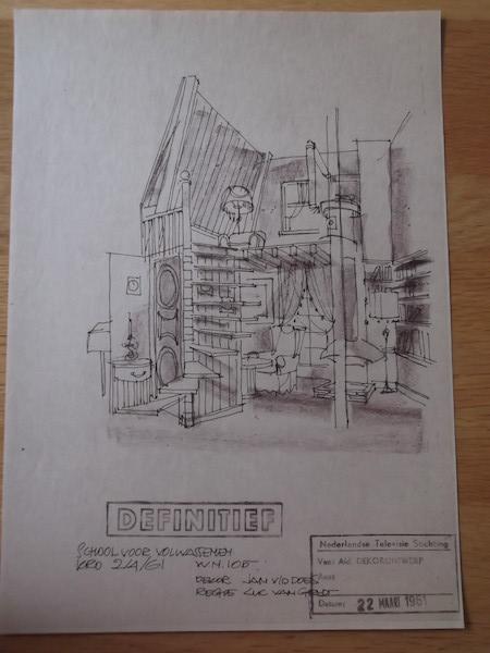 School voor volwassenen (KRO, 2-4-1961) Collectie Jan van der Does