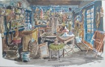 Swiebertje - winkel Malle Pietje - prive-collectie Rinus Does
