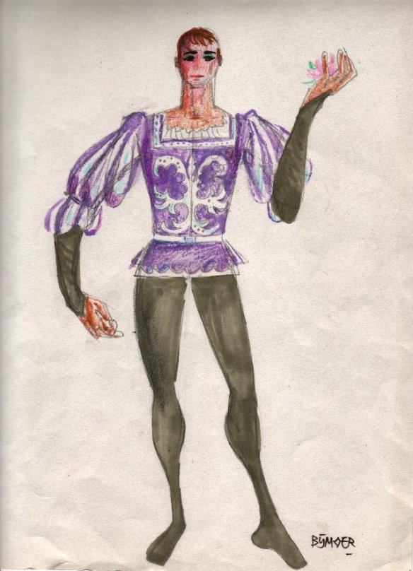 Kostuumontwerp Wim Bijmoer