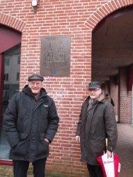 HIer stond ongeveer de toren van studio Irene, op de hoek van de Kerkstraat en de Kapelstraat.