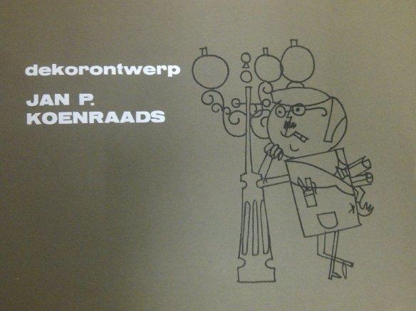 Koenraads op de titelrol van Capriolen (NCRV, 5-10-1963) getekend door Walther Schoorl.