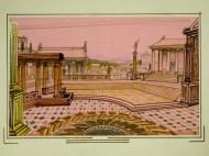 1-2-3 show: Het Romeinse rijk (KRO, 27-11-1984), regie Guus Verstaete jr., decor Roland de Groot. Collectie Beeld en Geluid
