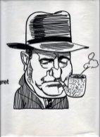 Illustratie 'Maigret'. Collectie Henk Tilder