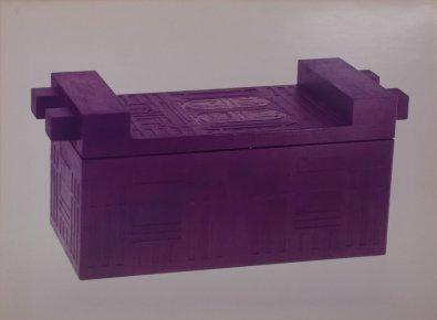 Miniaturen voor De dief (VPRO, 7-2-1974). Decorontwerp Frank Rosen. Collectie Martien van den Dijssel