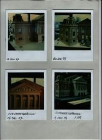 Maquette van Concertgebouw Amsterdam. Mogelijk voor 100 jaar Concertgebouw (NOS, 11-4-1988). Collectie Martien van den Dijssel