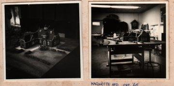 Maquette voor onbekend programma oktober 1968. Collectie Martien van den Dijssel