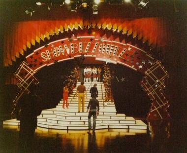 Showbizzquiz (TROS 1978-1985), decor Frank Rosen. Foto uit collectie Frank Rosen