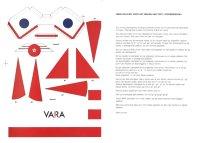 Promotiemateriaal (zelf te bouwen tent) voor Sterrenshow (VARA 1984-1986), decor: Hub Berkers. Collectie Hub Berkers / NIBG