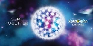 Grafische identiteit en slogan van Eurovision 2016