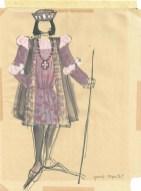 Romeo en Julia (NCRV, datum niet bekend), kostuumontwerp Els Salomons. Collectie Erven Els Salomons