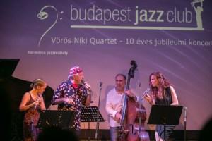 Vörös Niki - Budapest Jazz Club
