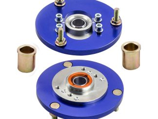 1 Pair Camber Plates for BMW E36 Drift Caster 325ic 328i 328is 328ic 323i 323ic Europe Coilover Top Mount Camber Plate COilover
